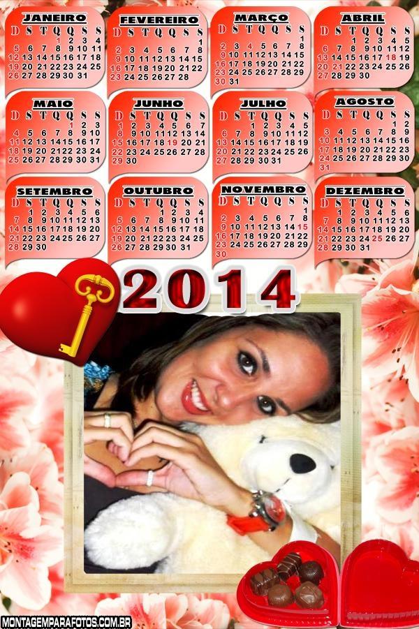 Calendário Amor Chocolate 2014