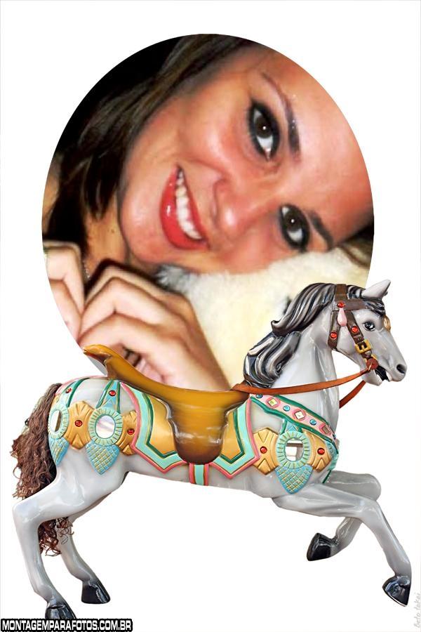 Moldura Cavalo de Carrossel