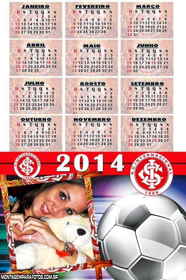 Calendário 2014 do Internacional