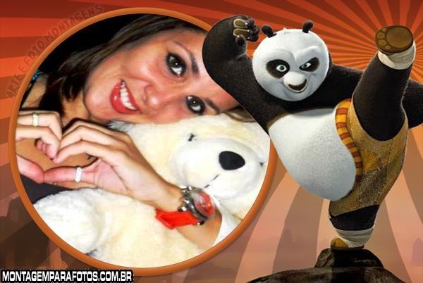 Moldura Po Kung Fu Panda