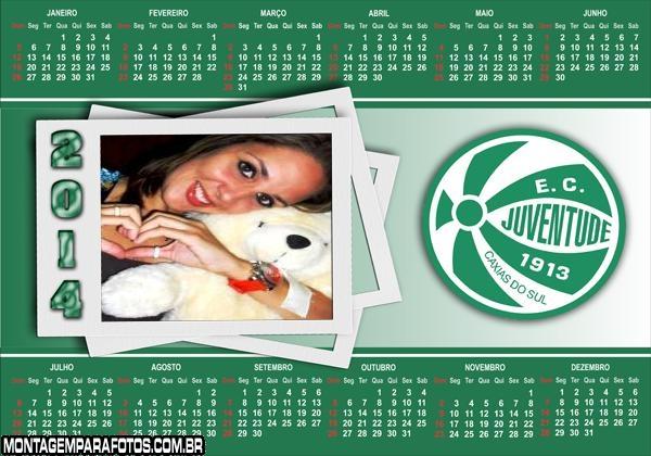 Calendário 2014 Juventude