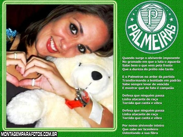 Moldura Hino do Palmeiras