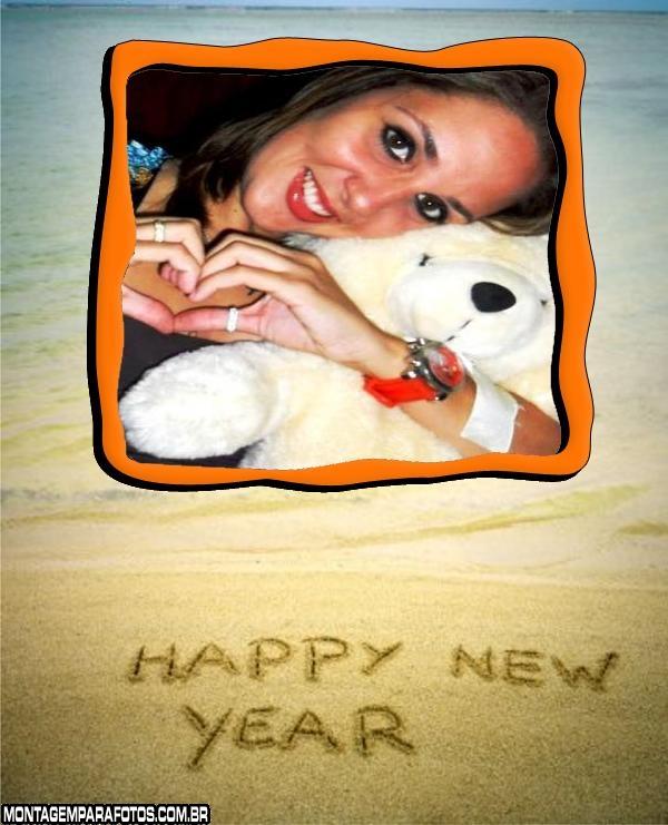 Happy New Year Areia da Praia