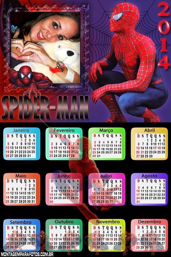 Homem Aranha 2014 Moldura