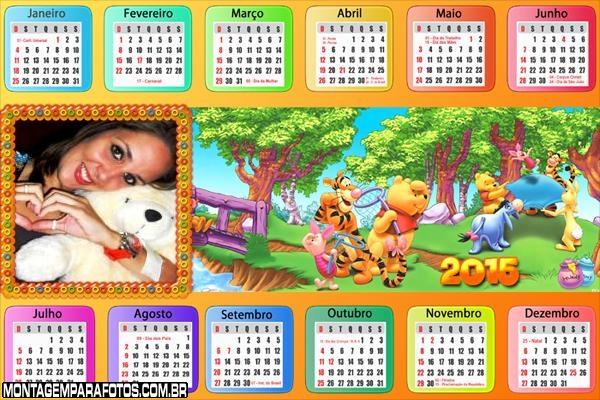 Calendário 2015 Pick Nick