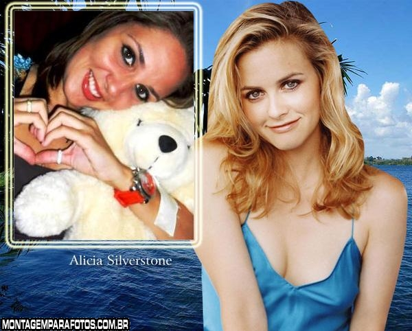 Moldura Alicia Silverstone