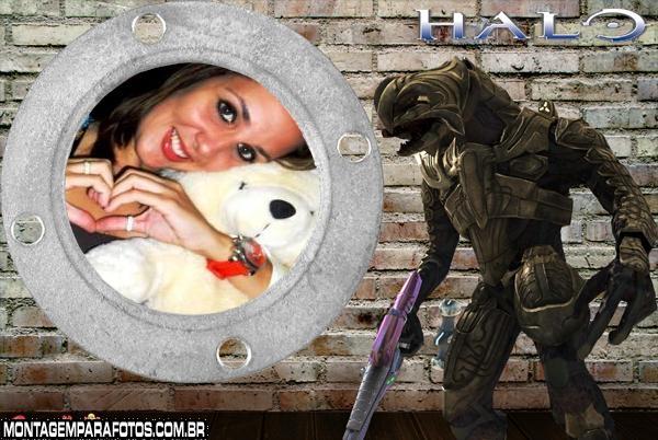 Moldura Game Halo