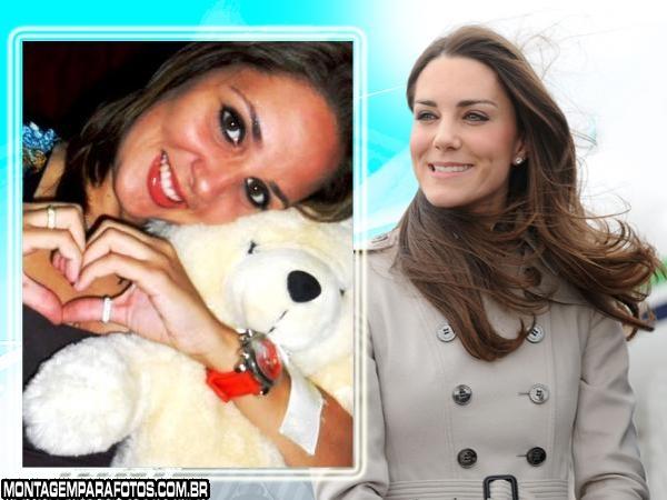 Moldura Kate Middleton