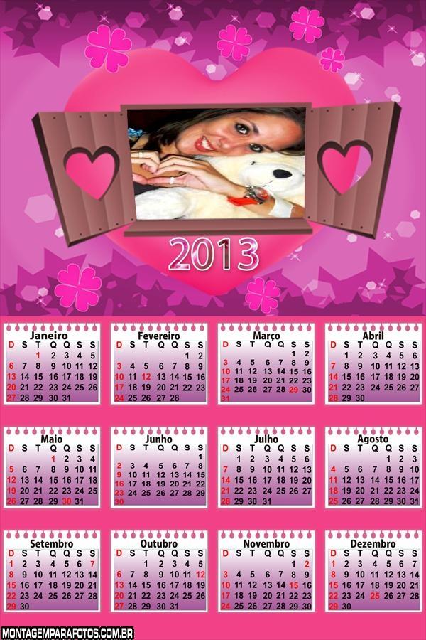 Calendário de Amor 2013