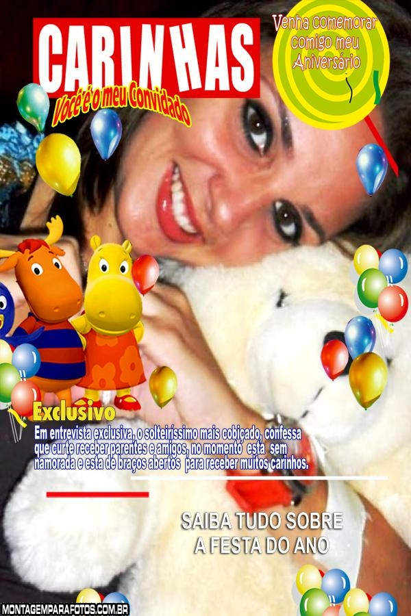 Backyardigans Capa de Revista
