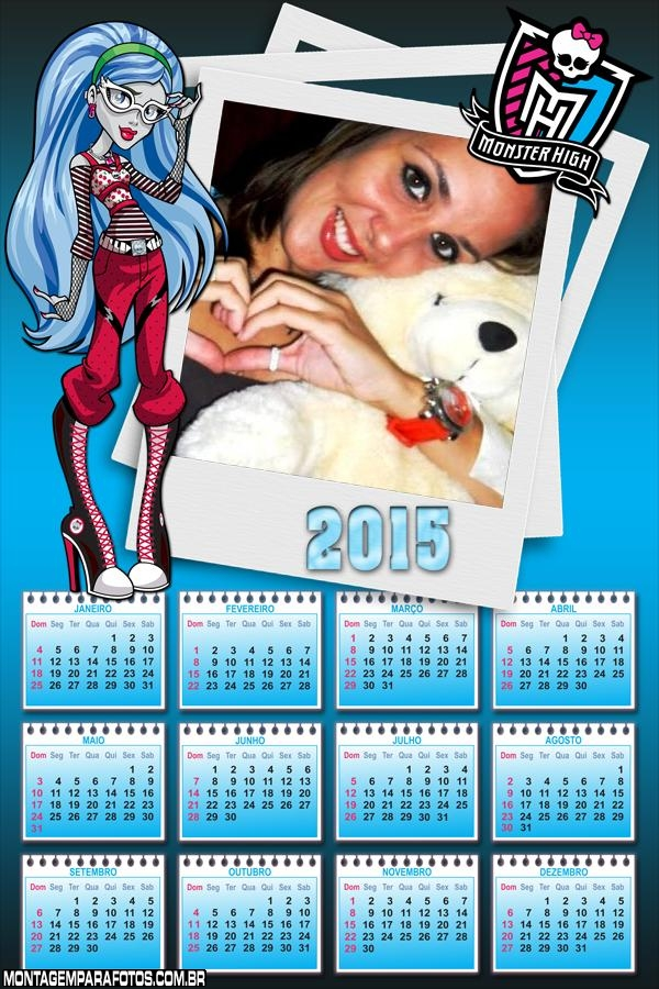 Calendário 2015 Avea Trotter