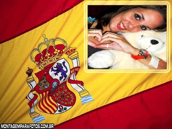 Moldura Bandeira da Espanha