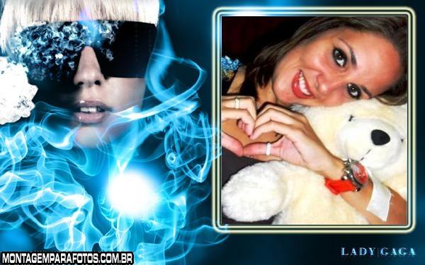 Moldura Lady Gaga Ice