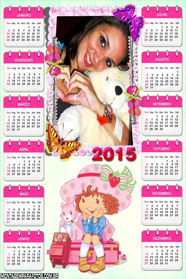 Calendário 2015 Strawberry