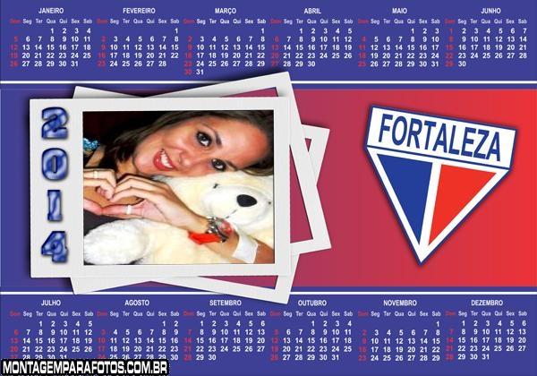 Calendário 2014 Fortaleza