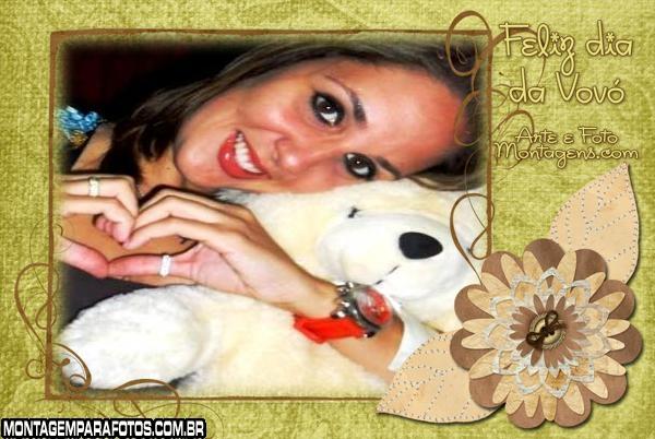 Feliz dia da Vovó Moldura