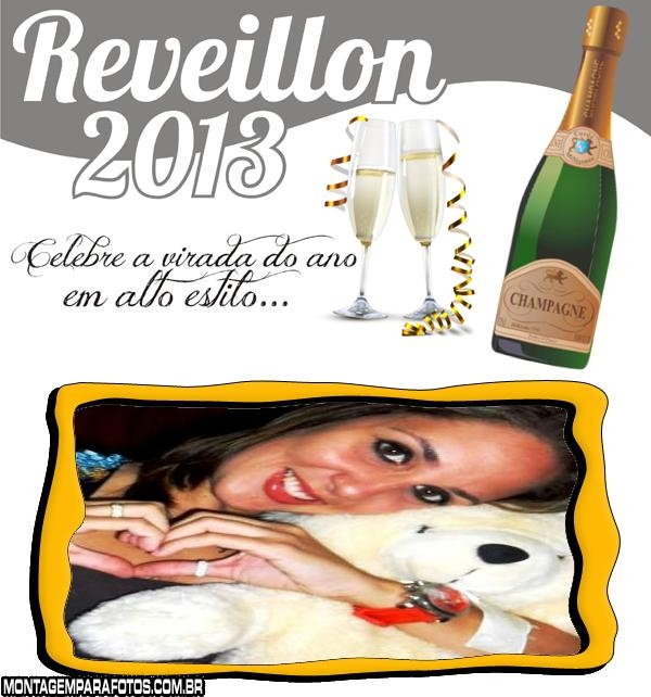 Moldura Reveillon 2013
