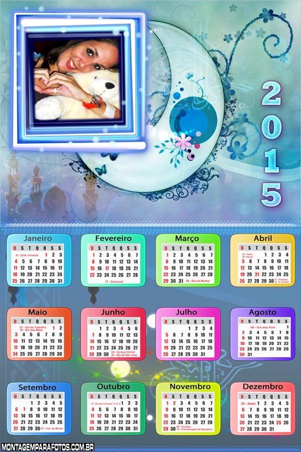 Calendário 2015 Luau