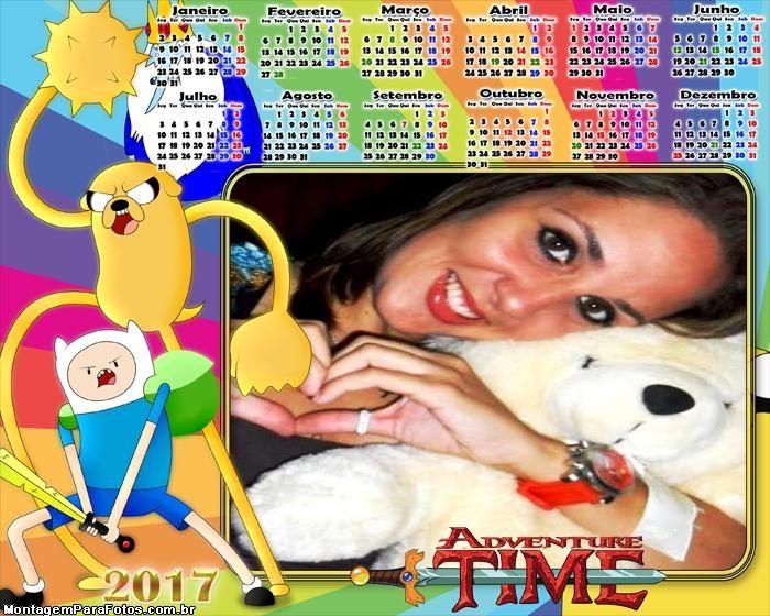 Calendário 2017 Adventure Time