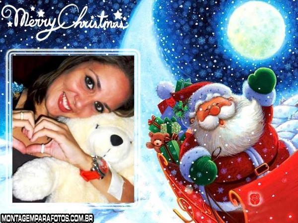 Moldura Merry Christmas