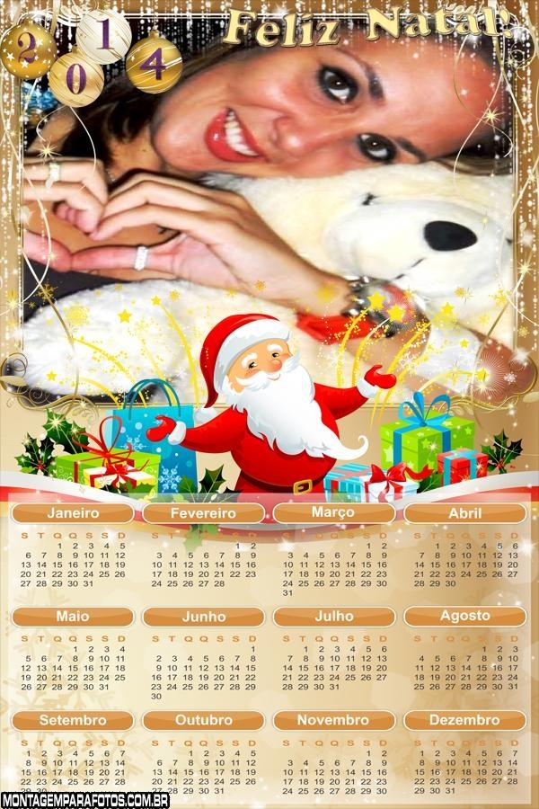Noel Calendário 2014