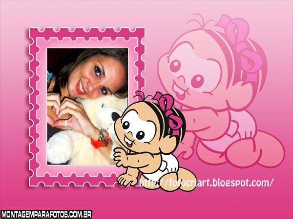Moldura Bebê Mônica