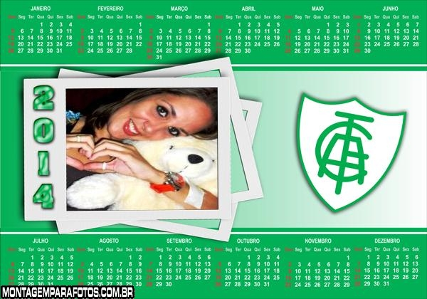 Calendário 2014 América MG