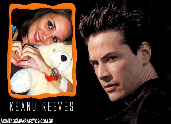 Moldura Keanu Reeves