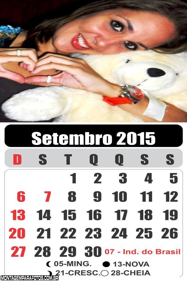 Calendário Setembro 2015