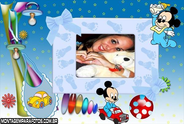 Mickey Baby Brincando
