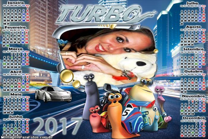Calendário 2017 Turbo