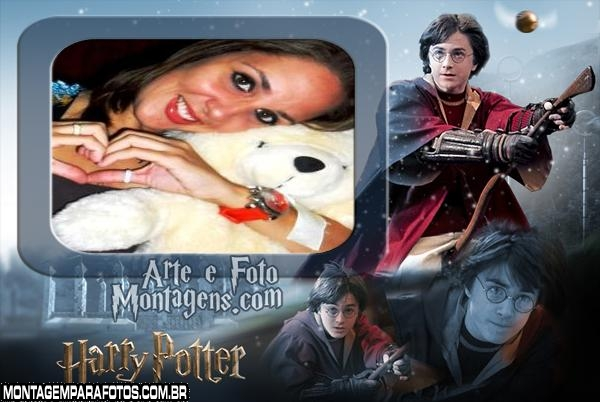 Moldura Fotos Harrry Potter