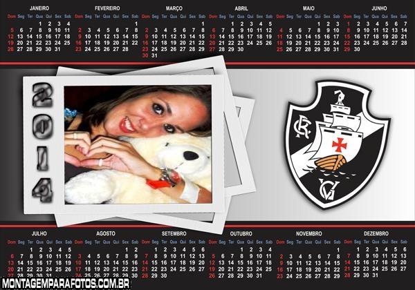 Calendário 2014 Vasco