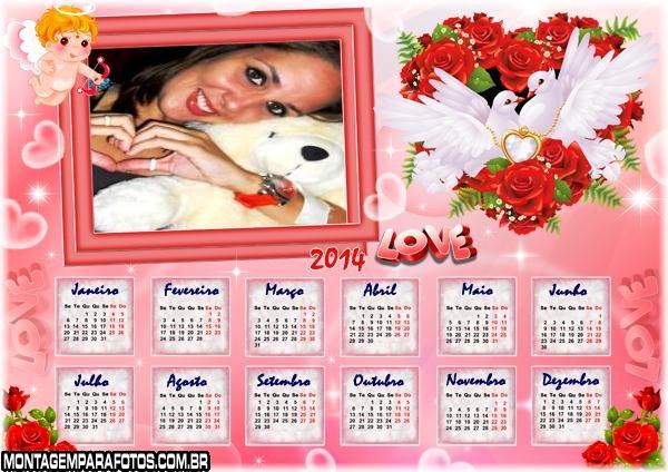 Calend�rio do Amor 2014