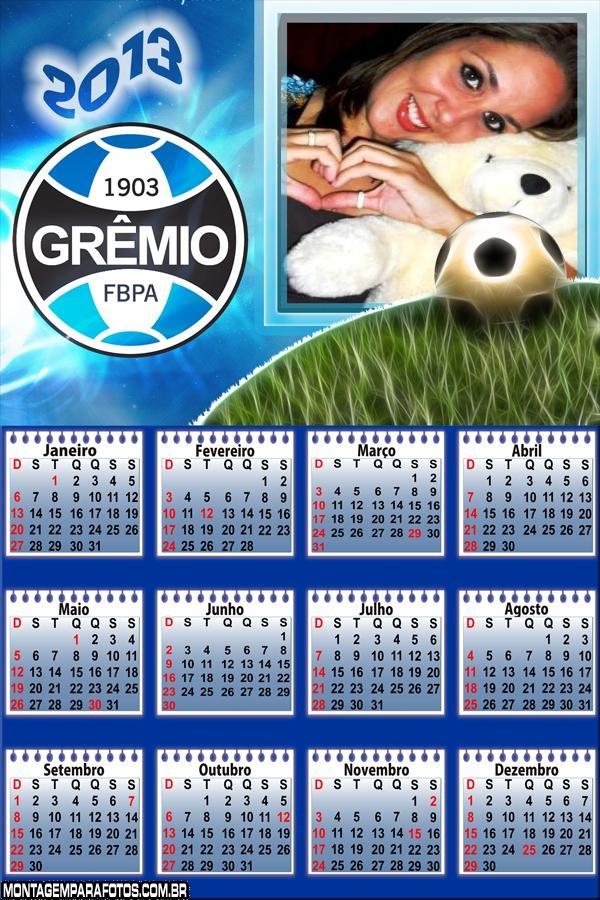 Calendário Grêmio 2013