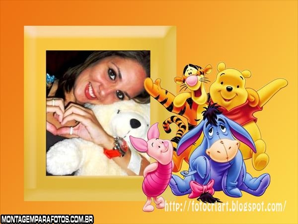 Amigos do Pooh FotoMontagem