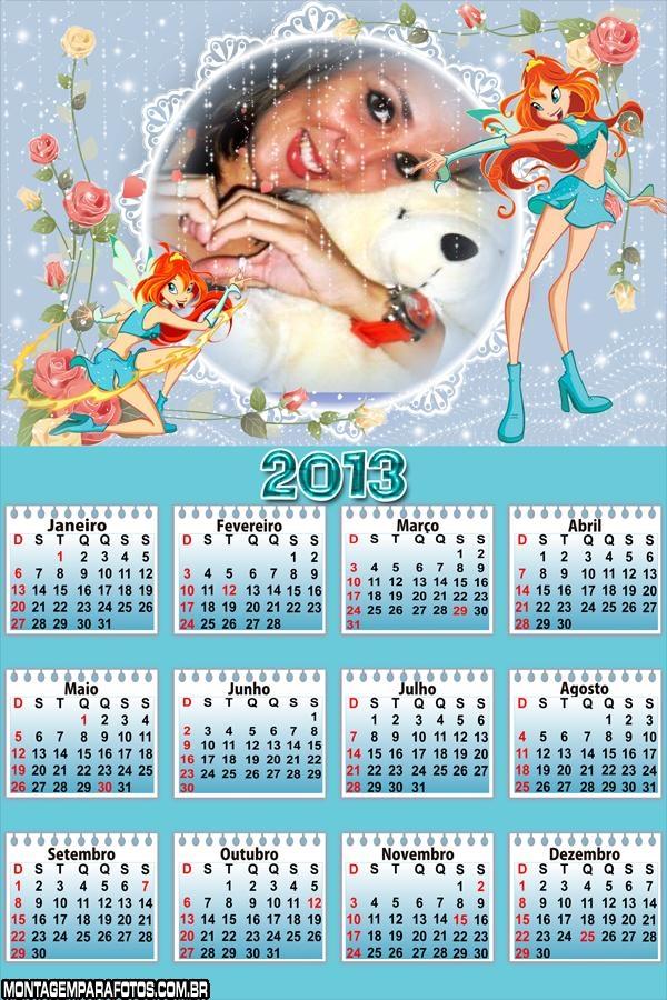 Calendário WinX 2013