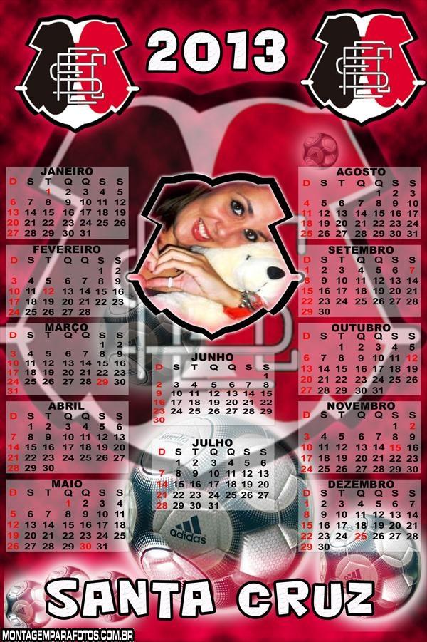 Calendário Santa Cruz 2013