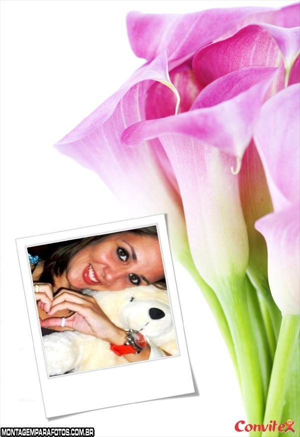 Moldura Flor de Lirio