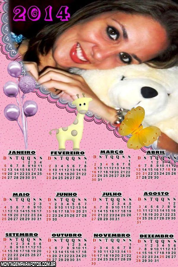 Calendário Infantil 2014
