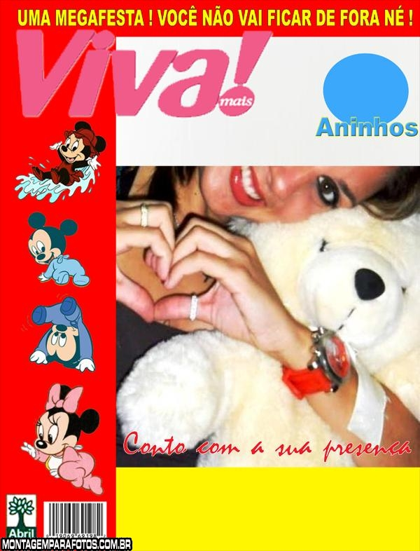 Convite Revista Viva Mais