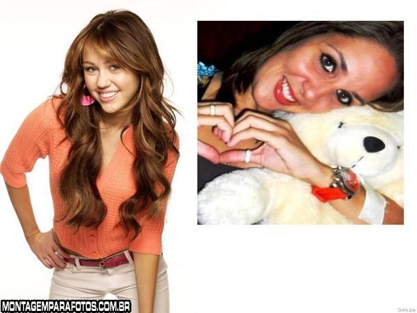 Moldura Cantora Miley Cyrus