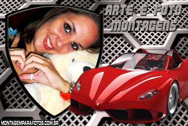 Moldura Escudo Ferrari