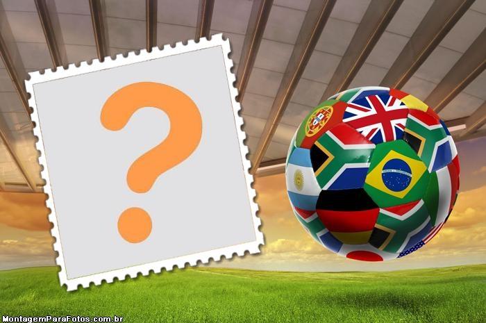 Bola Bandeiras Times da Copa do Mundo
