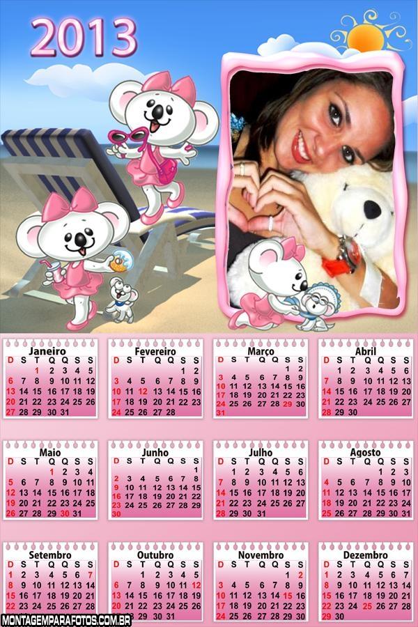 Calendário Lilica Ripilica 2013