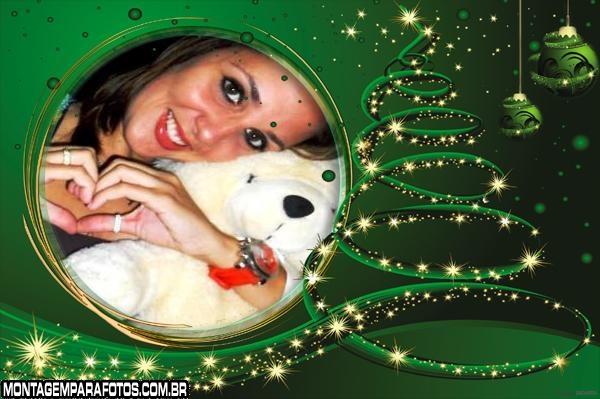 Moldura Magia do Natal