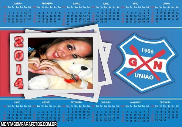 Calendário 2014 Gremio Nautico