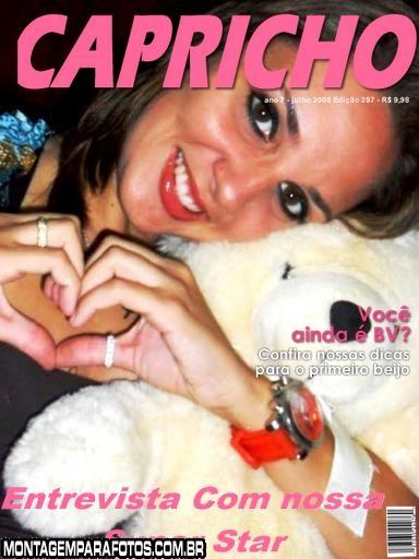 Capa Revista Capricho