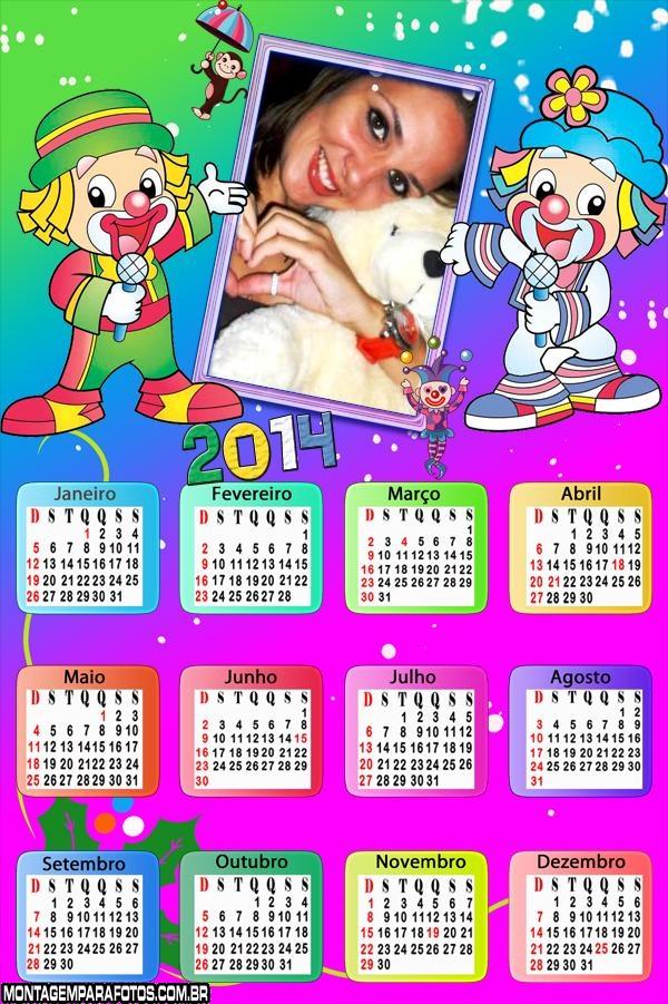 Calendário Infantil Patati Patatá