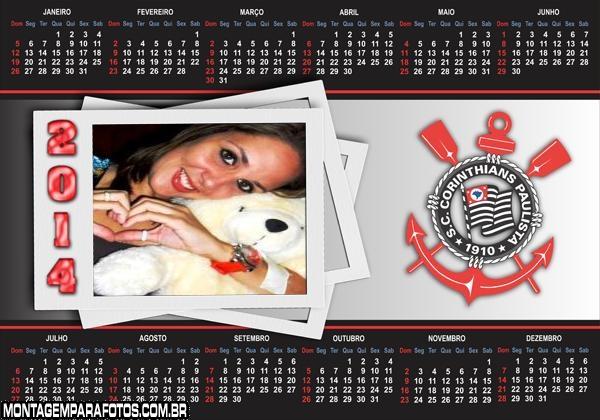 Calendário 2014 Corinthians